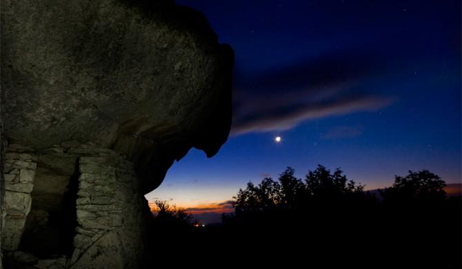 notturno colline galluresi